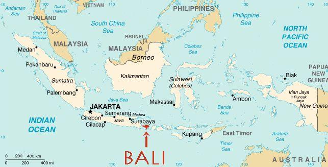 Bali Indoneesia saarestikus