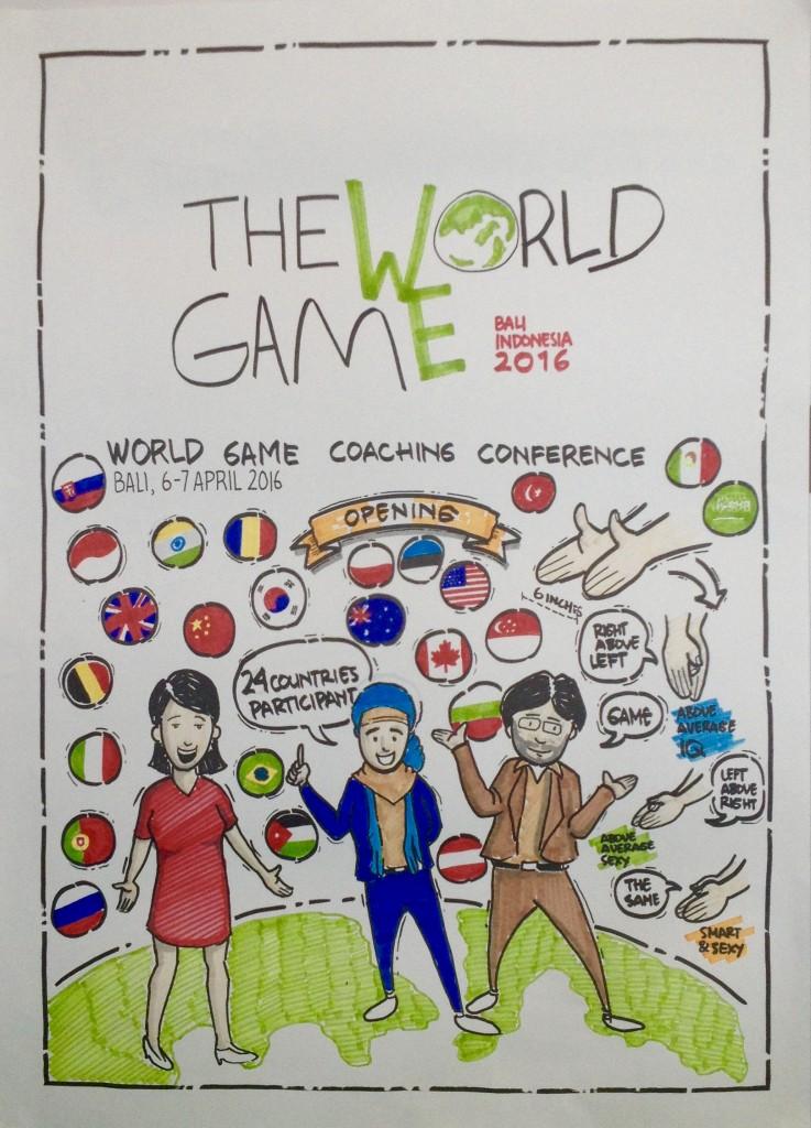 Coachingu maailmakonverents Balil, Indoneesias