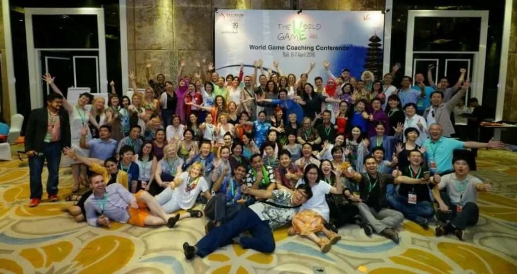 Coachingu konverentsi The World Game 2016 osalejad